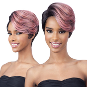 FreeTress Equal Synthetic Hair Wig Extreme Side Part Celia