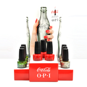OPI 100 Years of the CocaCola Bottle Limited Edition Nail Lacquer 9Pcs Display Set