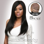 UpScale 100 Virgin Remi Human Hair Hand Made Full Lace Wig Natural Straight 16
