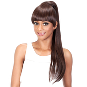 Vivica Fox Synthetic Hair Drawstring Ponytail Two In One Bang AMP; Pony BPLOUI