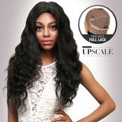UpScale 100 Virgin Remi Human Hair Hand Made Full Lace Wig Loose Wave 24