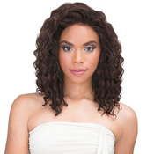 Janet Collection Virgin Remy Human Hair Weave 360 Crown Closure Deep Wave