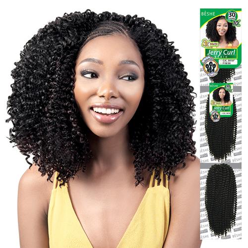 BESHE Synthetic Kanekalon Hair Crochet Braids Brazilian 3X