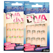 Broadway Fashion Diva Divine 24 Nail Kit