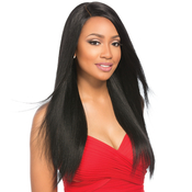 Sensationnel Remy Human Hair Lace Front Wig Select Yaki 22