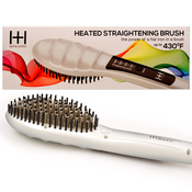 HOT AMP; HOTTER Heated Straightening Brush Heat Brush