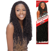 Harlem125 Synthetic Hair Braids Kima Braid CroKnot Spring Curl 20