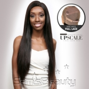 UpScale 100 Virgin Remi Human Hair Hand Made Full Lace Wig Natural Straight 24