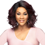 Vivica Fox Synthetic Hair Lace Front Wig Invisible Lace Part Natural Baby Hair Tori