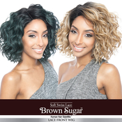 ISIS Human Hair Blend Wig Brown Sugar BS120
