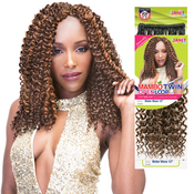 Janet Collection Synthetic Hair Braids Twin Loop Mambo Open Loop Water Wave Braid 12