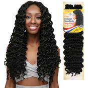 Amour Synthetic Kanekalon Crochet Braids Natty Goddess Dreadlocks Deep Wavy