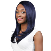 Janet Collection Synthetic Hair Lace Front Wig Natural Super Flow Invisible Deep Part Lace Olga