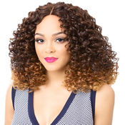 Its A Wig Synthetic Hair Lace Front Wig Emerald