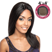Trill Unprocessed Brazilian Virgin Remy Human Hair Lace Front Wig 4X4 Lace Chestnut 20