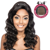Trill Unprocessed Brazilian Virgin Remy Human Hair Lace Front Wig 4X4 Lace Maple 18