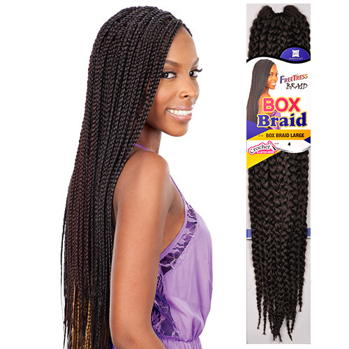 Crochet Box Braids Big : ... Synthetic Hair Crochet Braid Large Box Braids 20 - SamsBeauty