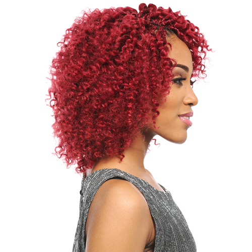 Crochet Braids Remy Hair : Sensationnel Remy Human Hair Crochet Braids Select Berry Loop 2Pcs ...