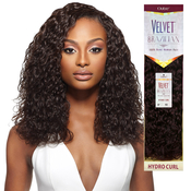 Outre Remy Human Hair Weave Velvet Brazilian Hydro Curl