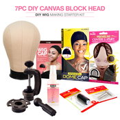 Studio Limited Canvas Block Head DIY Wig Making Starter Kit