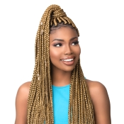 Sensationnel Synthetic Hair Braids XPRESSION 3X Ruwa Pre Layered Braid 48