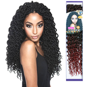 ISIS Synthetic Hair Crochet Braids Curled Faux Locs 18