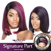 ISIS Human Hair Blend Lace Front Wig Brown Sugar Soft Swiss Lace Signature Part BSS207 Cosmo