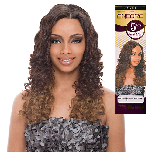 Janet collection human hair blend weave encore french romance wave janet collection human hair blend weave encore french romance wave 5pcs samsbeauty pmusecretfo Image collections