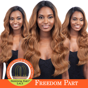 ModelModel Synthetic Lace Front Wig Freedom Part Lace Number 202