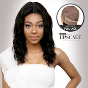 UpScale 100 Virgin Remi Human Hair Hand Made Full Lace Wig Ocean Wave 16