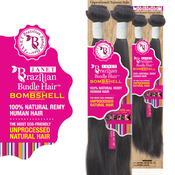 Janet Unprocessed Brazilian Virgin Remy Human Hair Weave Bombshell Natural Weave 10
