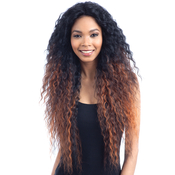 Model Model Human Hair Blend Lace Front Wig Artist 213