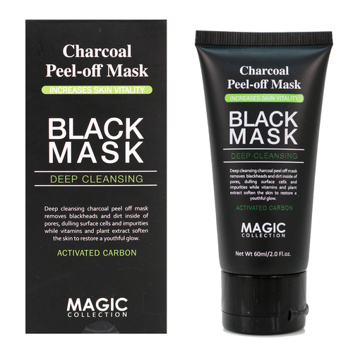 Magic Collection Charcoal Peel Off Mask Black Mask Deep Cleansing