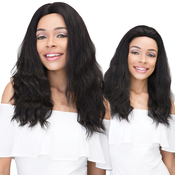 Janet Collection Natural Virgin Remy Human Hair Lace Front Wig 360 Lace Natural Wig 22
