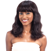 NAKED Natural Unprocessed Brazilian Virgin Human Hair Wig S Wave S