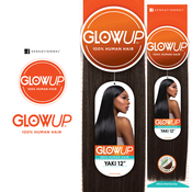 Sensationnel Human Hair Weave Glow Up Yaki