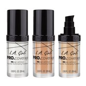 LA GIRL Pro Coverage HD HighDefinition Long Wear Illuminating Foundation