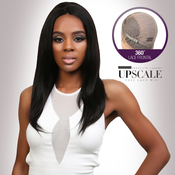UpScale 100 Virgin Remi Human Hair Lace Wig 360 Lace Frontal Wig Straight 14