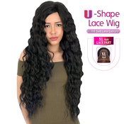 New Born Free  Synthetic Lace Front Wig 4X4 XL Magic Lace UShape Lace Wig MLU09