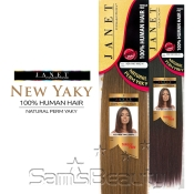 Janet Collection Human Hair Weave New Yaky