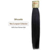 Silhouette Human Hair Braids Neo European Collection Natural Micro Yaky Bulk 22