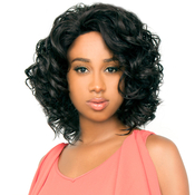 The Wig Brazilian Human Hair Blend Invisible Deep Part Lace Front Wig LHCandi