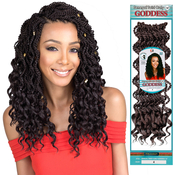 Bobbi Boss Synthetic Hair Crochet Braids Senegal Twist Curly Goddess 14