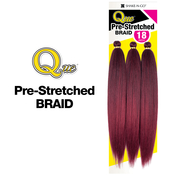 Milky Way Que Synthetic Hair Crochet Braids 3X PreStretched Braid 18