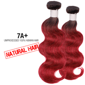 Unprocessed 100 Human Hair Weave Natural Hair 7A Body wave