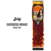 Royal Zury Synthetic Hair Crochet Braids Goddess Loc Deep Curl 14