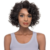 Vivica Fox Natural Brazilian Virgin Remi Human Hair Lace Front Wig Swiss Lace Invisible Lace Part Alaina