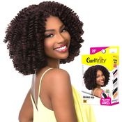 Sensationnel Synthetic Hair Crochet Braids Curlfinity Pre Looped Orange Rod