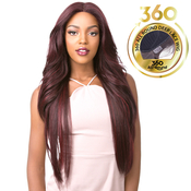 Its A Wig Human Hair Blend 360 All Round Deep Lace Wig 360 Lace Adelinda