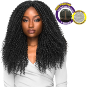Outre Synthetic Hair Lace Front Wig Brazilian Boutique 4 Deep Free Part Lace Wig Curly